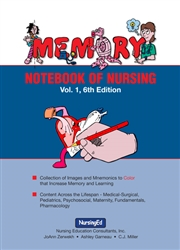 memory notebook of nursing volume 1 6th ed pdf