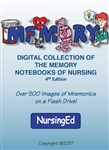 Digital Collection (Flash Drive) of the Memory Notebooks of Nursing, 4th Ed.